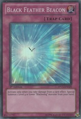 Black Feather Beacon - DP11-EN029 - Super Rare - 1st Edition on Channel Fireball