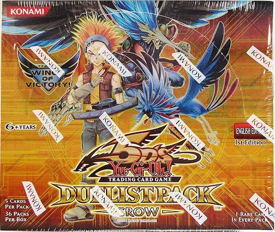 Duelist Pack Crow 1st Edition Booster Box