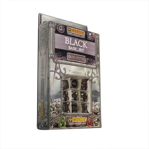 IronDie 9-Dice Starter Pack - Black