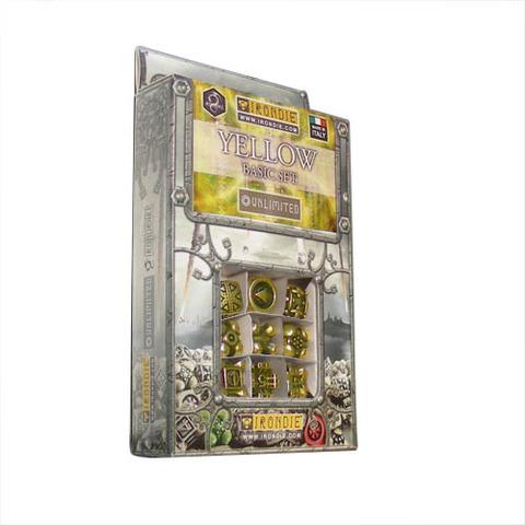 IronDie 9-Dice Starter Pack - Yellow