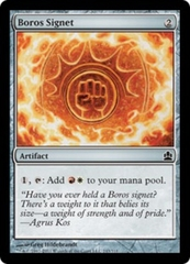 Boros Signet on Channel Fireball