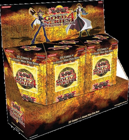 Gold Series 4 Pyramids Edition Booster Box