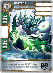 Riptide - Green Elemental