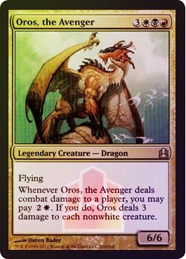 Oversized - Oros, the Avenger