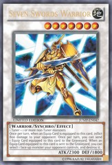 Seven Swords Warrior - JUMP-EN047 - Ultra Rare - Limited Edition