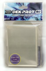 Dek Prot 50ct. Standard Sleeves - Clear