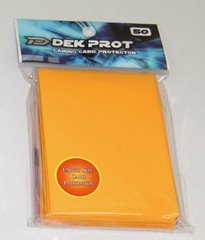 Dek Prot 50ct. Standard Sleeves - Mango Yellow
