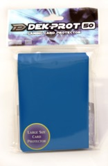 Dek Prot 50ct. Standard Sleeves - Ocean Blue