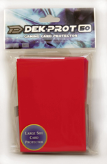 Dek Prot 50ct. Standard Sleeves - Pepper Red