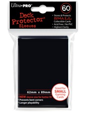 Ultra Pro Small Size Sleeves - Black - 60ct