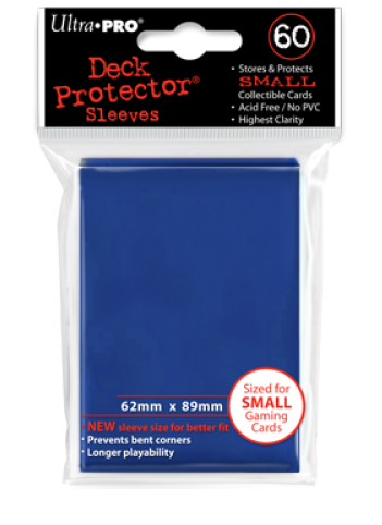 Ultra Pro Small Size Sleeves - Dark Blue - 60ct
