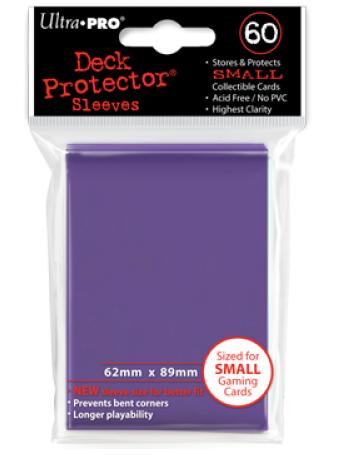 Ultra Pro 60ct Yugioh Sized Sleeves - Purple