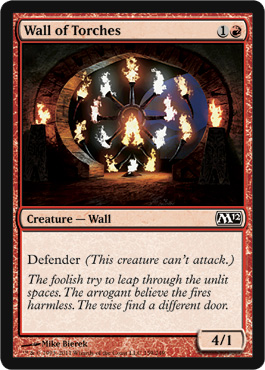 Wall of Torches