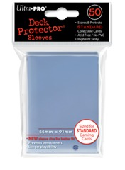 Ultra Pro Standard Size Clear Sleeves - 50ct