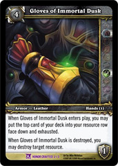 Gloves of Immortal Dusk