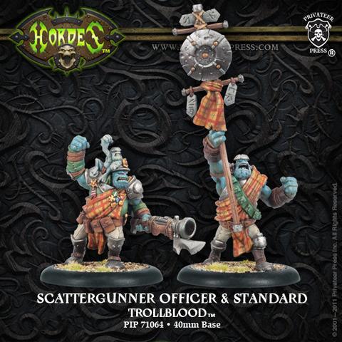 Scattergunner Officer and Standard