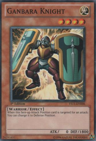 Ganbara Knight - YS11-EN006 - Common - 1st Edition