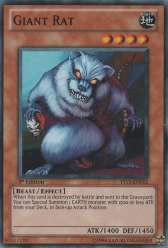 Giant Rat - YS11-EN012 - Common - 1st Edition