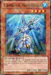 Elemental Hero Ocean - DT05-EN014 - Parallel Rare - Duel Terminal on Channel Fireball