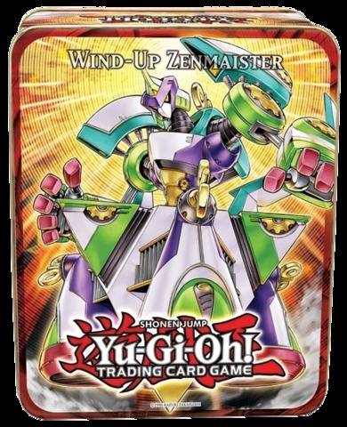 Yu-Gi-Oh 2011 Wind-Up Zenmaister Collectors Tin