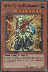 Beast King Barbaros - CT08-EN005 - Super Rare - Limited Edition on Channel Fireball