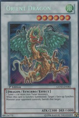 Orient Dragon - GENF-EN085 - Secret Rare - 1st Edition