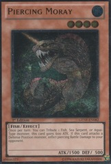 Piercing Moray - GENF-EN082 - Ultimate Rare - 1st Edition