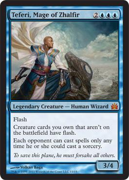 Teferi, Mage of Zhalfir - Foil
