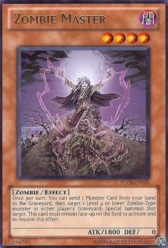 Zombie Master - TU06-EN006 - Rare - Unlimited Edition
