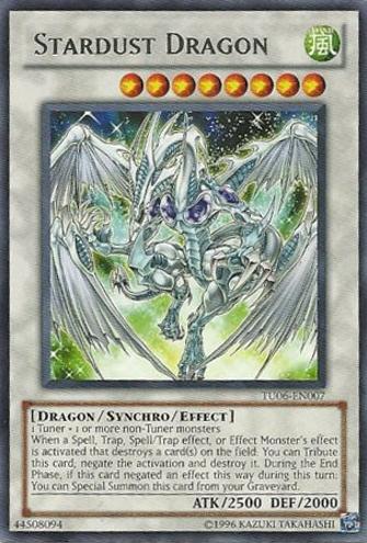 Stardust Dragon - TU06-EN007 - Rare - Unlimited Edition