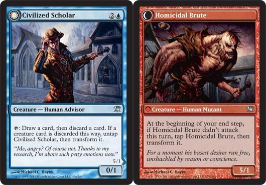 Civilized Scholar // Homicidal Brute