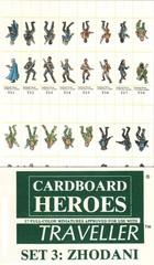 Cardboard Heroes Traveller Set 3: Zhodani