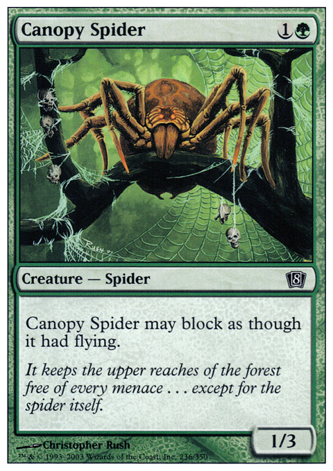 Canopy Spider - Foil
