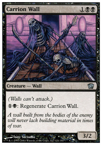 Carrion Wall - Foil