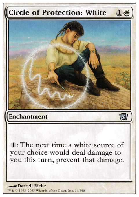 Circle of Protection: White - Foil