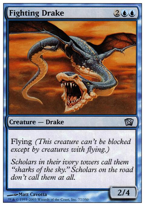 Fighting Drake - Foil