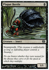 Plague Beetle - Foil