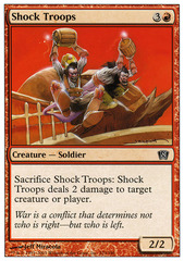 Shock Troops - Foil