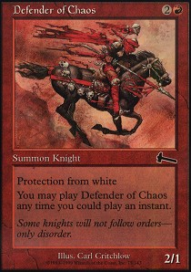 Defender of Chaos - Foil