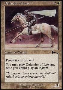 Defender of Law - Foil