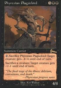 Phyrexian Plaguelord - Foil