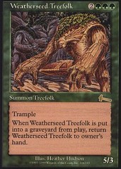 Weatherseed Treefolk - Foil