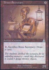 Brass Secretary - Foil