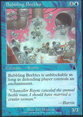 Bubbling Beebles - Foil on Channel Fireball