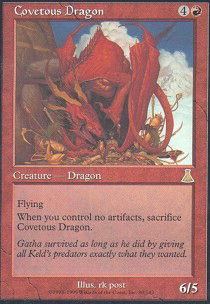 Covetous Dragon - Foil