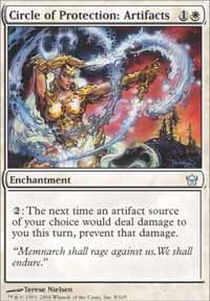 Circle of Protection: Artifacts - Foil