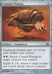 Cranial Plating - Foil on Channel Fireball