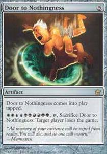Door to Nothingness - Foil