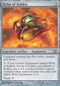 Helm of Kaldra - Foil