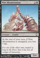 Nim Abomination - Foil